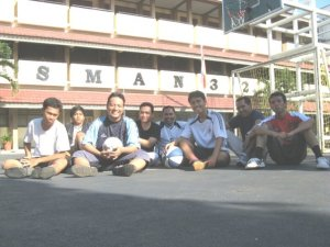 Tim Futsal Guru dan Siswa